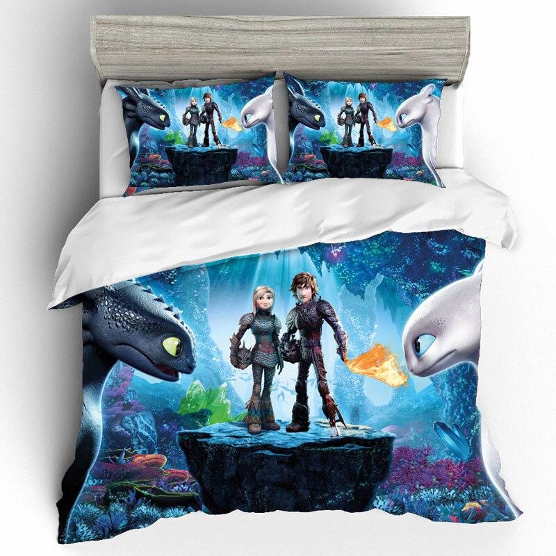 3d impressão king size conjuntos de cama