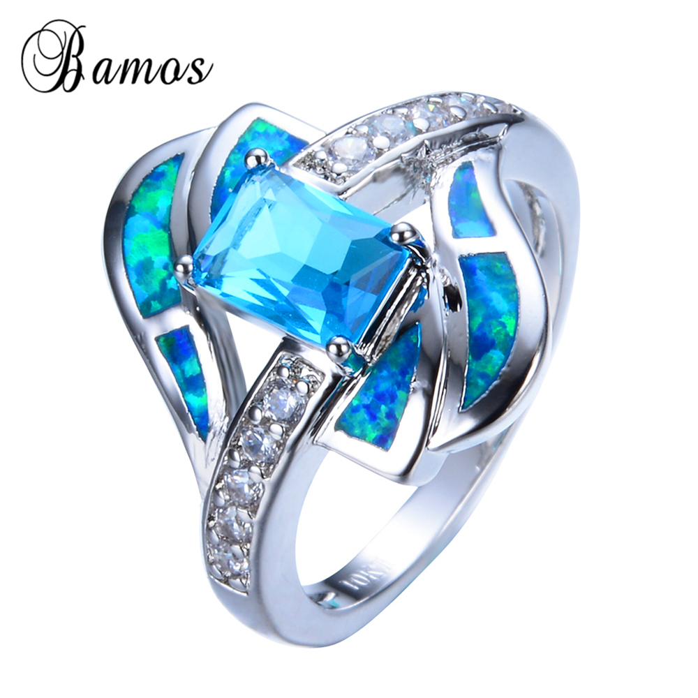 p quantum blue green opal inlaid black ceramic ring 4mm 10mm blue opal wedding rings