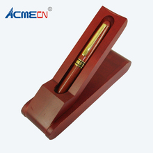 2018 Hot Sale Wood Pen Box Office Desk Decoration Writing Stationery Eco-friendly Craft Ball Blanks Gifts