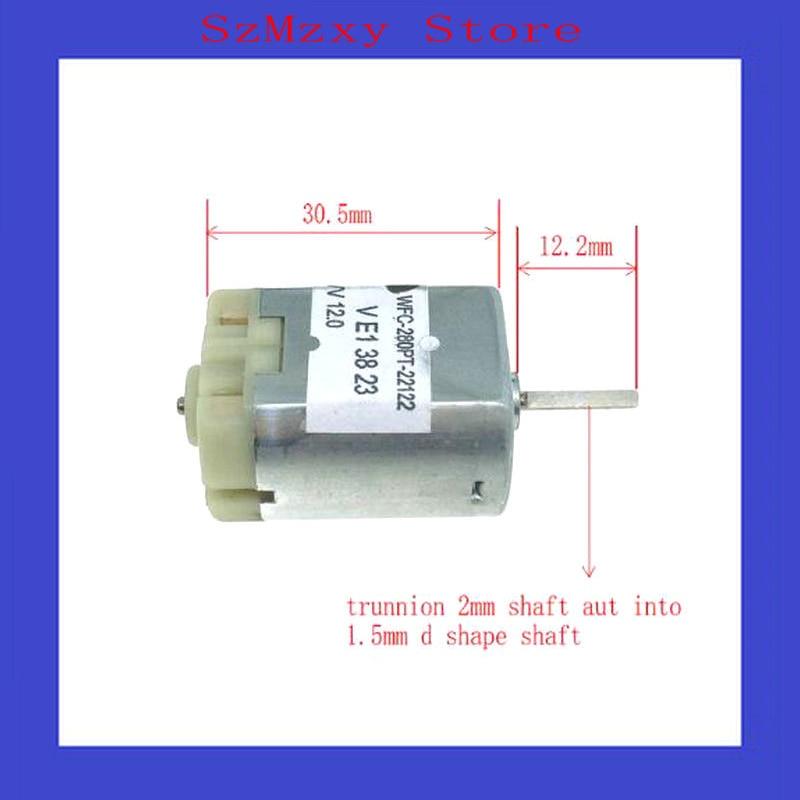 2PCS 280 12V Motor WFC-280PT-22122 carbon brush micro DC motor automatic door lock motor цены