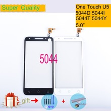For Alcatel One Touch U5 5044D 5044I 5044T 5044Y OT5044 5044R Touch Screen Touch Panel Sensor Digitizer Front LCD Glass 5.0