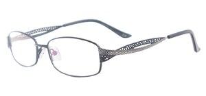 Средние металлические женские квадратные очки, полная оправа, красочные очки, оправа для мультифокальных линз для близорукости