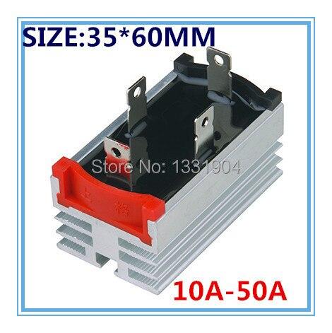 Freies shipping10PCS/LOT Neue singe phase Diode Brückengleichrichter QL 35*60 5A bis 50A können ausgewählt werden