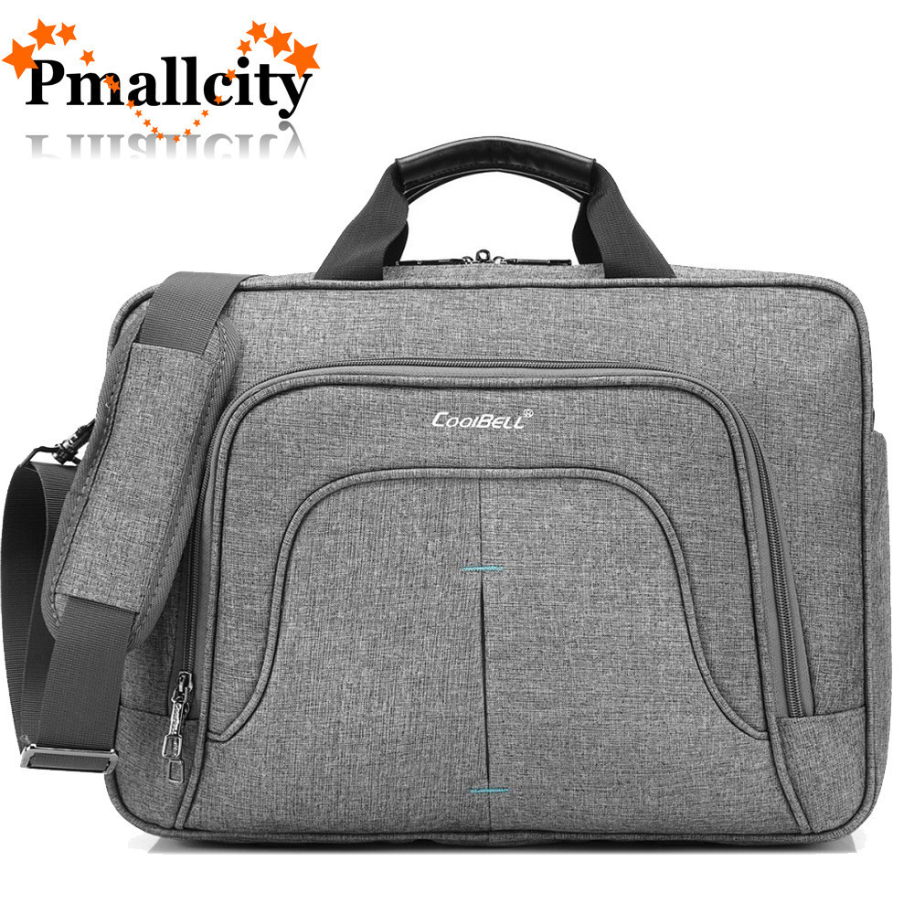 Coolbell Laptop Bag 15.6/15 Inch For Macbook Pro 15 Case Notebook Bag Laptop Messenger Sling Bag Laptop Briefcase-in Laptop Bags & Cases from Computer & Office
