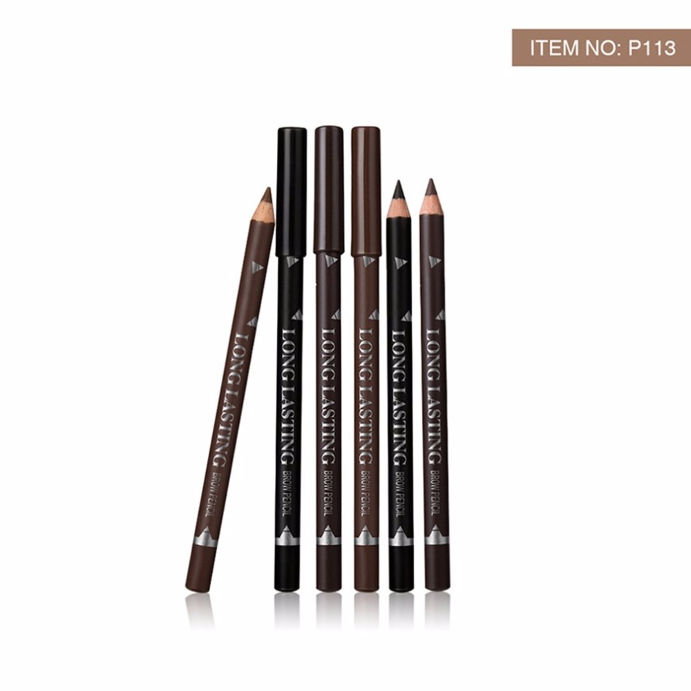 Natural 12PCSSet Waterproof Eyebrow Makeup Pencil Long Lasting Easy To Wear Eye Brow Pencil Cosmetic Make Up Tools hot