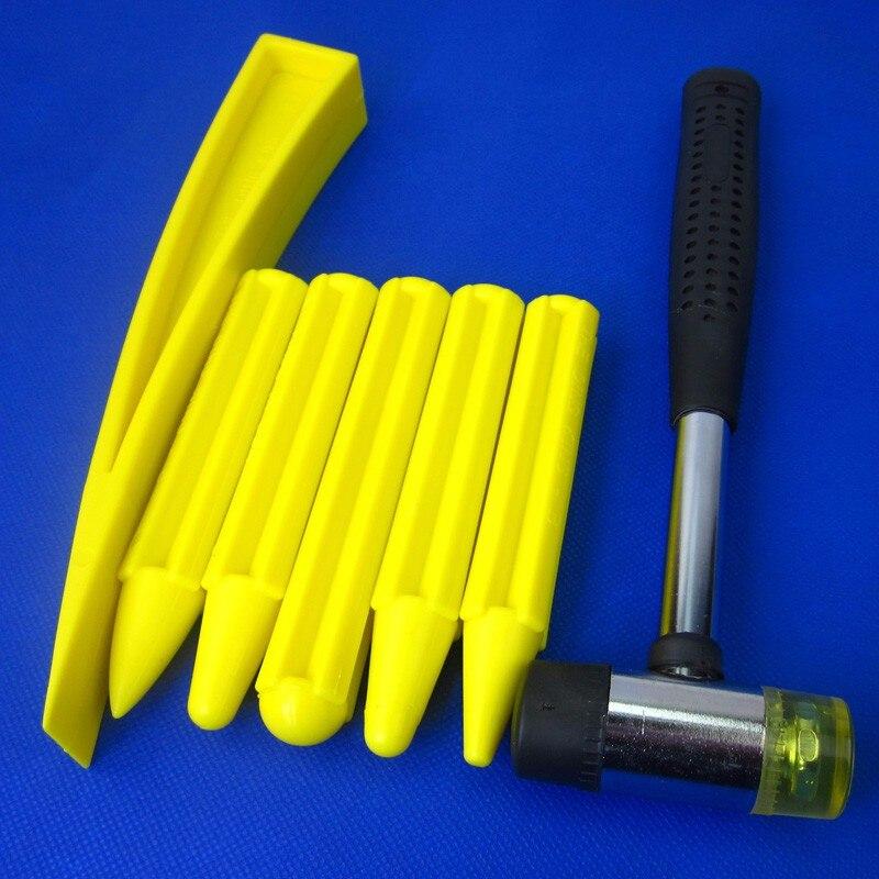 Автомобиль вмятина ремонт комплект PDR инструменты rummber молоток инструменты супер ударов PDR инструменты советы