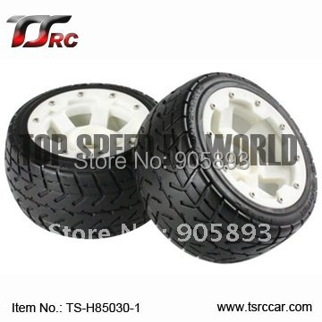 5B Rear Highway-road Wheel Set with Nylon Super Star Wheel(TS-H85030-1)x 2pcs for 1/5 Baja 5B, SS , wholesale and retail free shipping clutch bell holder spacer for 1 5 hpi baja 5b parts ts h65047 wholesale and retail