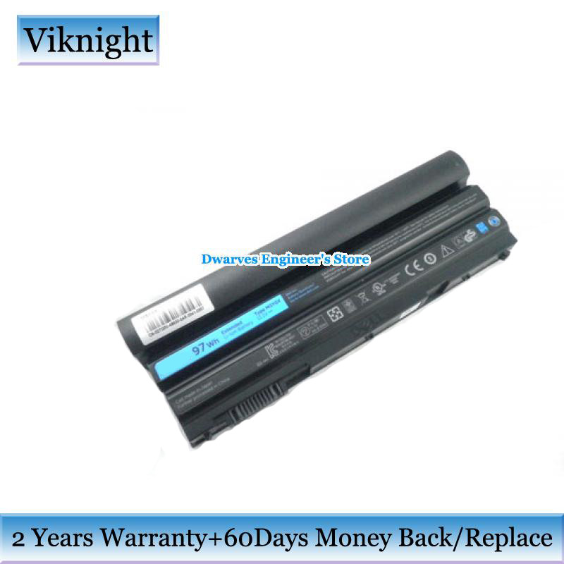 Genuine 11.1V 97Wh Laptop Battery For Dell Latitude E5520 E6420 ATG E6420 E6520 E5420 NHXVW PRRRF T54F3 T54FJ X57F1 M5Y0X KJ321 11 1v 65wh original laptop battery vv0nf for dell latitude e5440 e5540 notebook free shipping vv0nf vjxmc genuine bateria