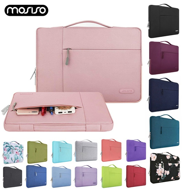 MOSISO Men Women Laptop Bag Case 13 13.3 Inch Notebook Handbag For Macbook Air Pro 13 Dell Asus HP Acer Laptop Case Waterproof