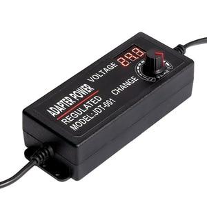 Image 2 - 調整可能な 3v 12v 3v 24v 9v 24 vユニバーサルアダプタディスプレイスクリーン電圧安定化スイッチング電源adatpor 3 12 24 v