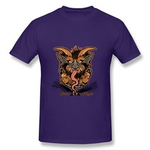 Cheap Sale 100 % Cotton Greetings From Krampus Men's t shirt Great Short Sleeve tee shirts for man