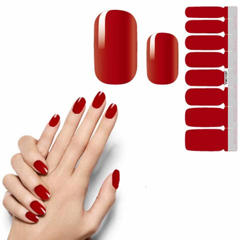 Detail Feedback Questions about 16 Tips/sheet Nail Stickers Art ...