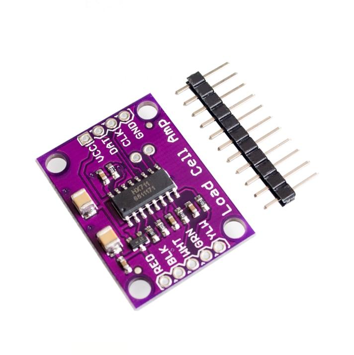 HX711 high-precision electronic weighing sensor 24 bit A  D converter board