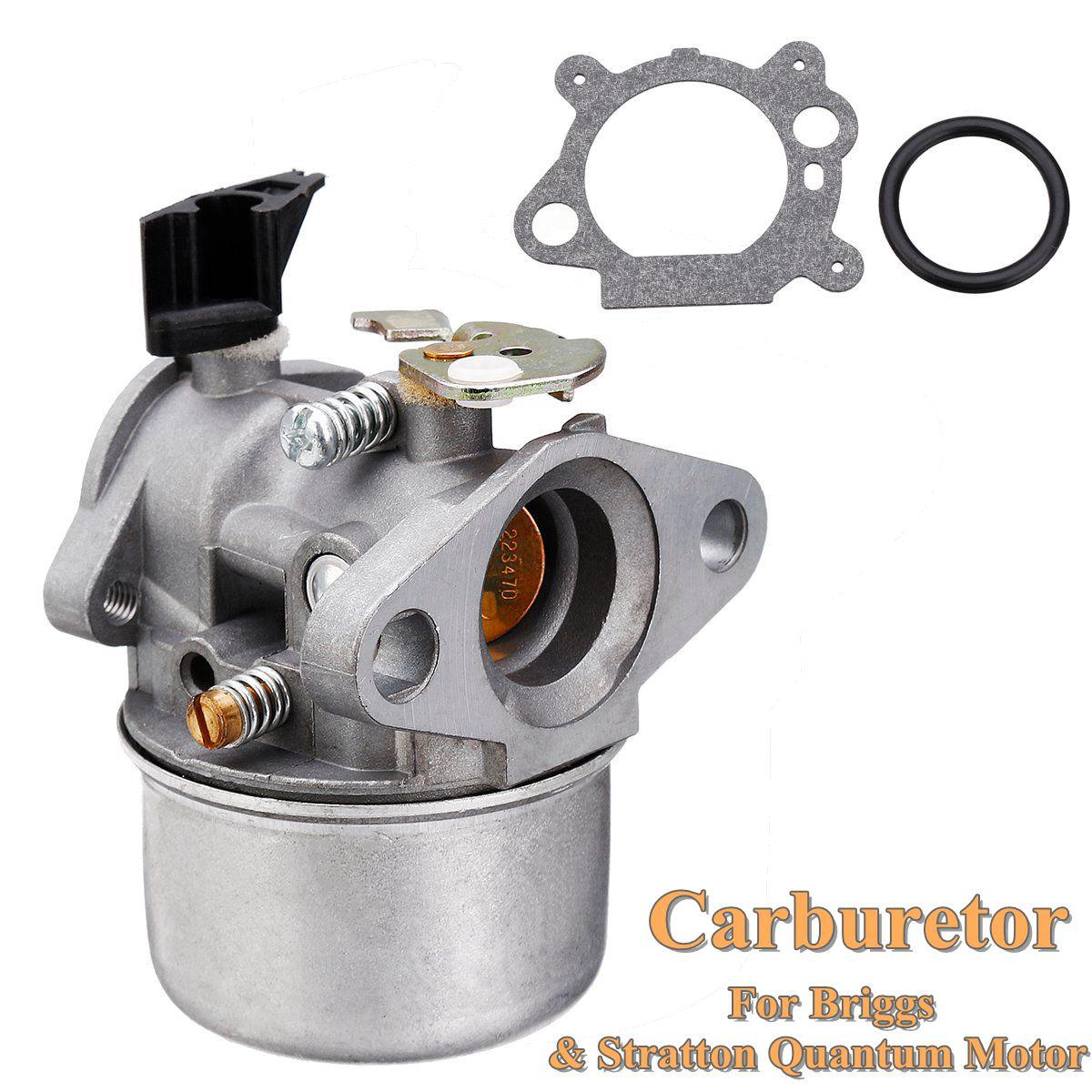 1 Pcs Choke Vergaser Carburateur Carburetor Briggs Stratton Quantum Motor 498965 With Gasket And Rubber Ring