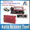 Última versão V1.3 Red UPA programador USB com adaptador completa UPA ECU Tuning Chip Scanner pacote completo 3 anos de garantia
