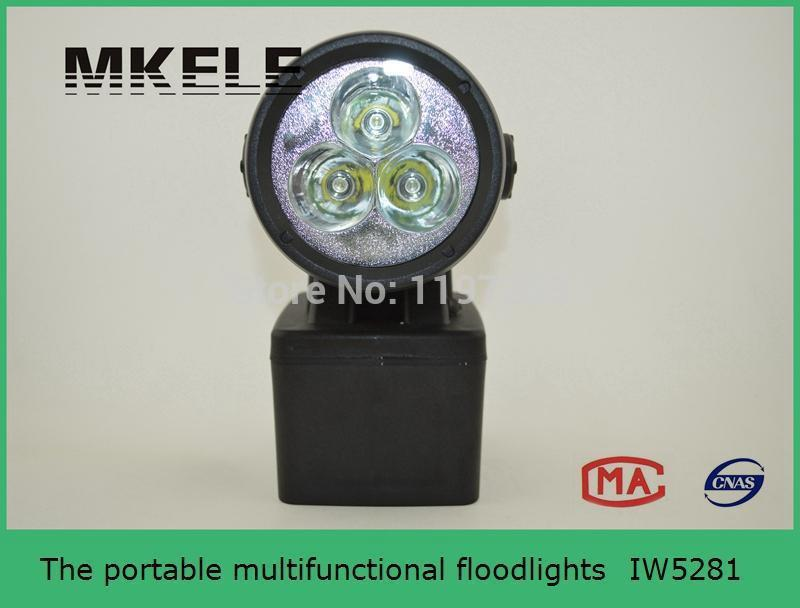 High Quality IW5281 Portable Multifunctional Floodlights Rotating Explosion Proof Search Light Led Flashlight useful convenient 3 models high low sos rotating focus led flashlight torch skid proof light lamp
