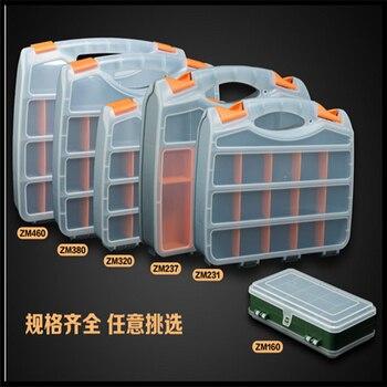 237 пластик портативный части ящик для хранения Toolbox винт поле электронные компоненты поле образец классификации части коробки