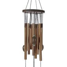 Carillones de viento de cobre antioxidante para exteriores, decoración de jardín para Salón/Patio, regalos de cumpleaños para amigos y mejores deseos, 62 cm