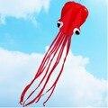 4 m Único Linha Conluio RED Octopus Poder Desporto Kite Pipa Voando Brinquedos de Presente de Esportes Ao Ar Livre Portátil Fácil de Voar