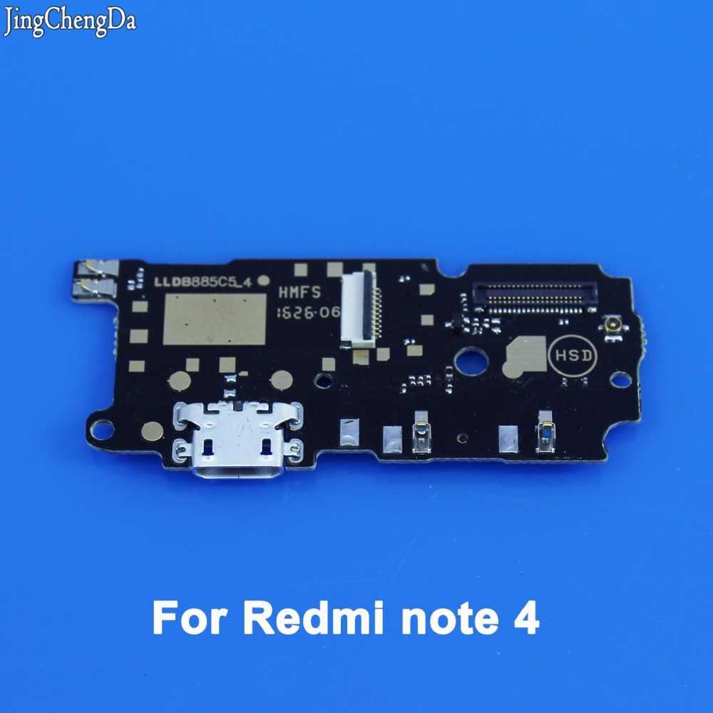 JCD nuevo enchufe USB carga de cable flex conector dock junta para Xiaomi Redmi note Hongmi 1 1 s 2 Nota teléfono móvil 3g note 4