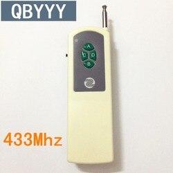 QBYYY 433mhz zdalnie sterowanym samochodowym kluczem zdalna jednostka interferencyjna auto drzwi zdalnego sterowania kontroler bezprzewodowy odbiornik