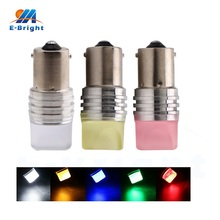 100 PCS 12V Strobe Car Tail Lamp 2835 9 SMD LED 1156 BA15S 1157 BAY15D Led Bulb Turn Signal Light Colorful White Blue Amber Red