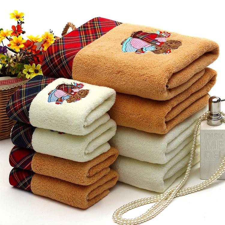 hot sale new bears bath face towels 100 cotton adult towels bathroom quick dry beach towel. Black Bedroom Furniture Sets. Home Design Ideas