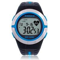 Xonix Men Women Heart Rate Calorie Watches Sports Watch HRM Heath Care BMI Unisex Running Diving