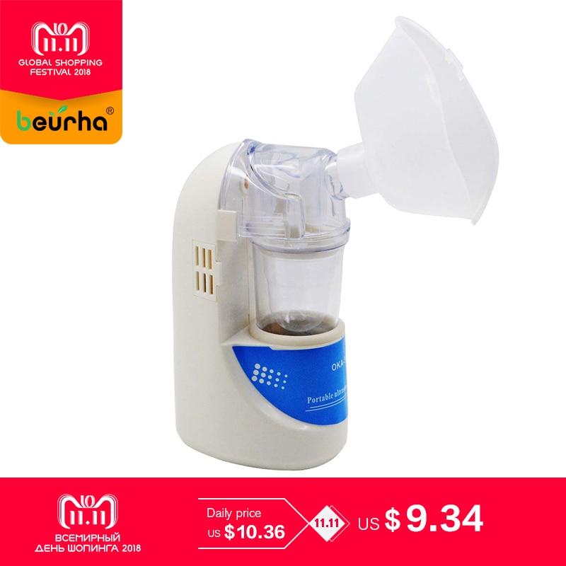 Family Handheld Asthma Nebulizer Inhaler Portable children Adult Inhale Automizer Mechine Medical Health Ultrasonic Nebulizer portable childre adults atomizer handheld multifunction ultrasonic nebulizer machine medical asthma inhaler