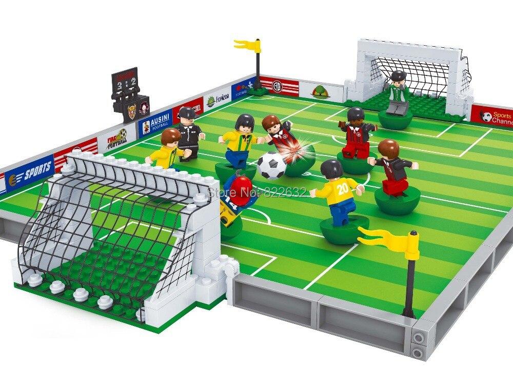 популярная игрушка ausini строительные блоки чемпионат