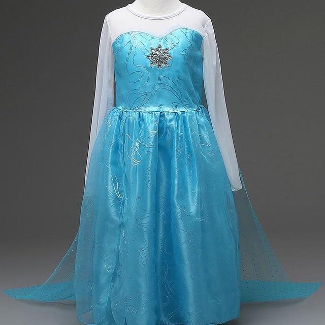 1af0194ce9 Nowa sukienka Letnia księżniczka sofia sukienka elza disfraz anna elsa  kostium vestido infantil gorączka roszpunka jurk