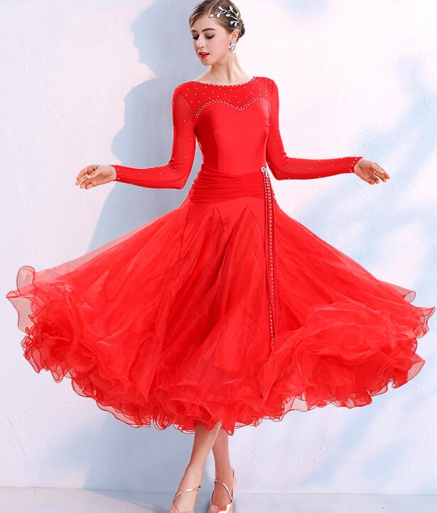 Ballroom Standard Dress Ballroom Dress Ballroom Women Waltz Dress Standard Dance Dresses Women 295 Costumes