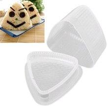 Еда треугольной формы рисовый шар Производитель прозрачный DIY инструмент суши плесень еда Кухня украшения прозрачный инструмент