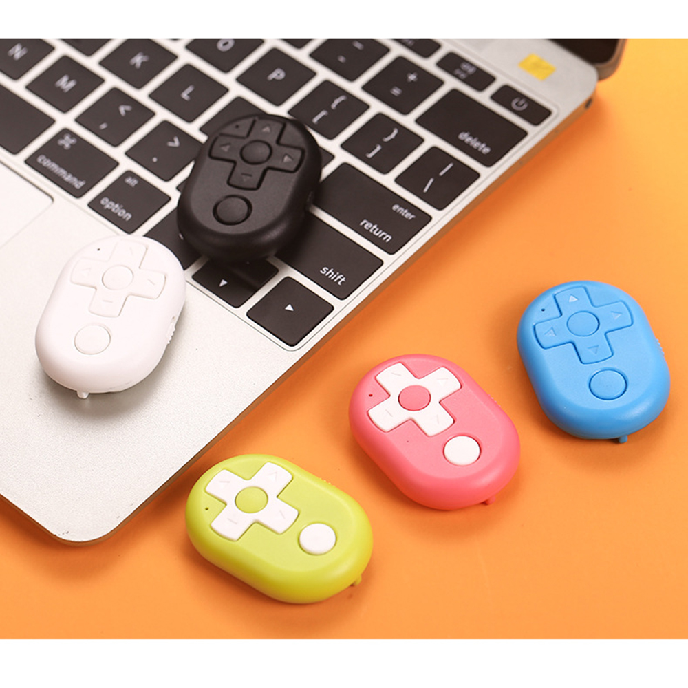 Multi-function Bluetooth Remote Control for Tik Tok / Vigo Video APP Universal Page Turner for Youtube IOS Android E-books image
