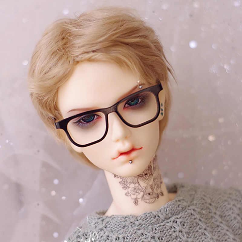 Кукла Cateleya BJD с париком, мохер, короткие волосы, 1/6 1/4, 1/3, чай с молоком, коричневая кукла, аксессуары