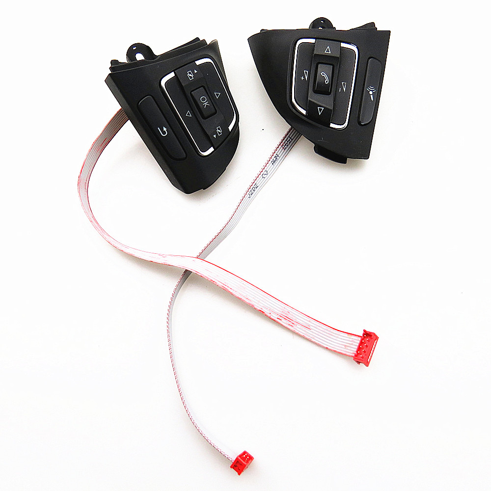 DOXA Steering Wheel Multifunction Control Switch Button Module For VW Golf Jetta MK5 MK6 Tiguan Touran EOS 5C0959537A 5C0959538B oem leather dsg s tronic gear lever shift knob cover for audi a1 a3 a4 a5 q3 q5 vw golf jetta mk5 mk6 tiguan