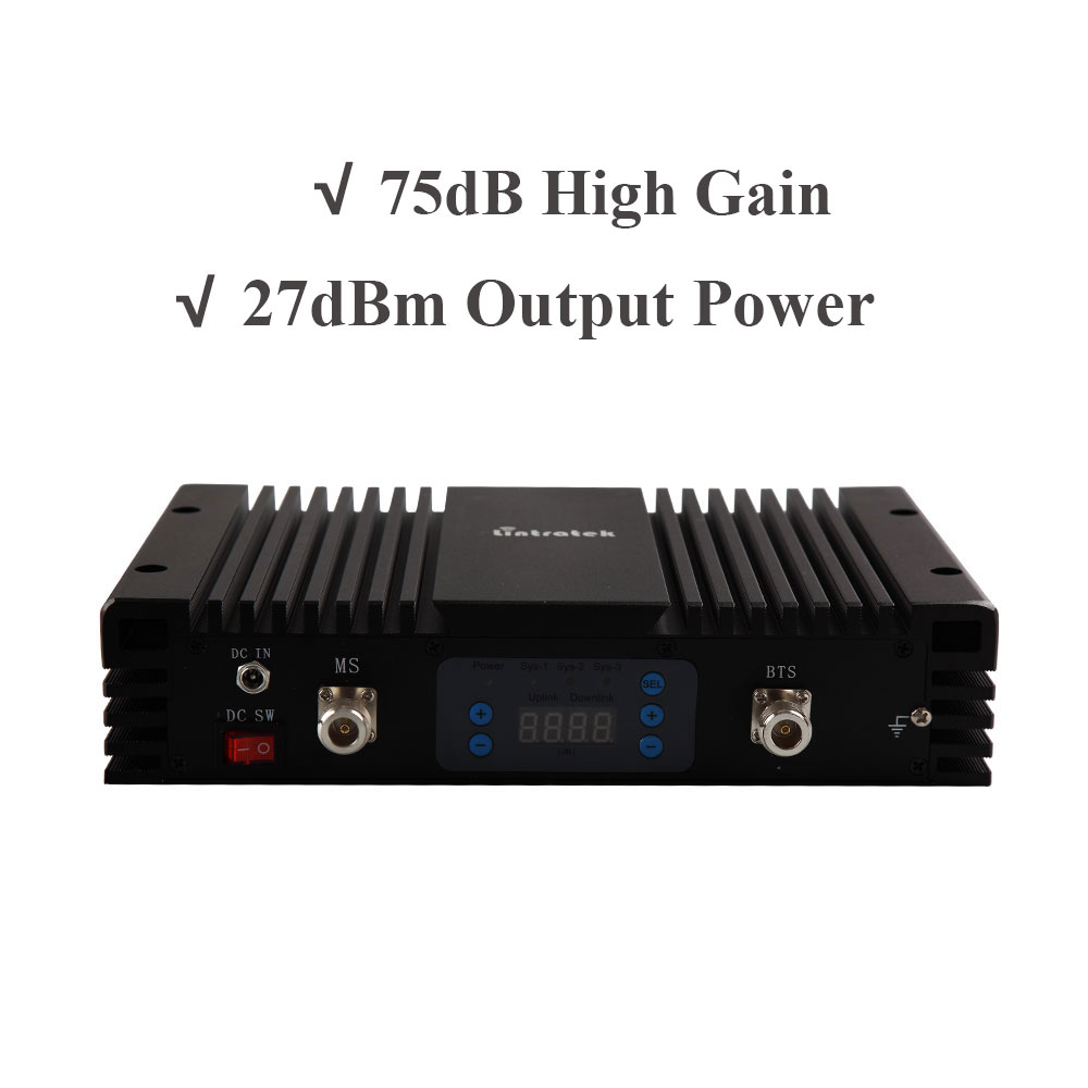 75db AGC MGC LCD 4G LTE 1800 MHz + 3G 2100 MHz double bande amplificateurs de Signal puissants 1800 + 2100 MHz téléphones portables répéteur de Signal Mobile # - 2