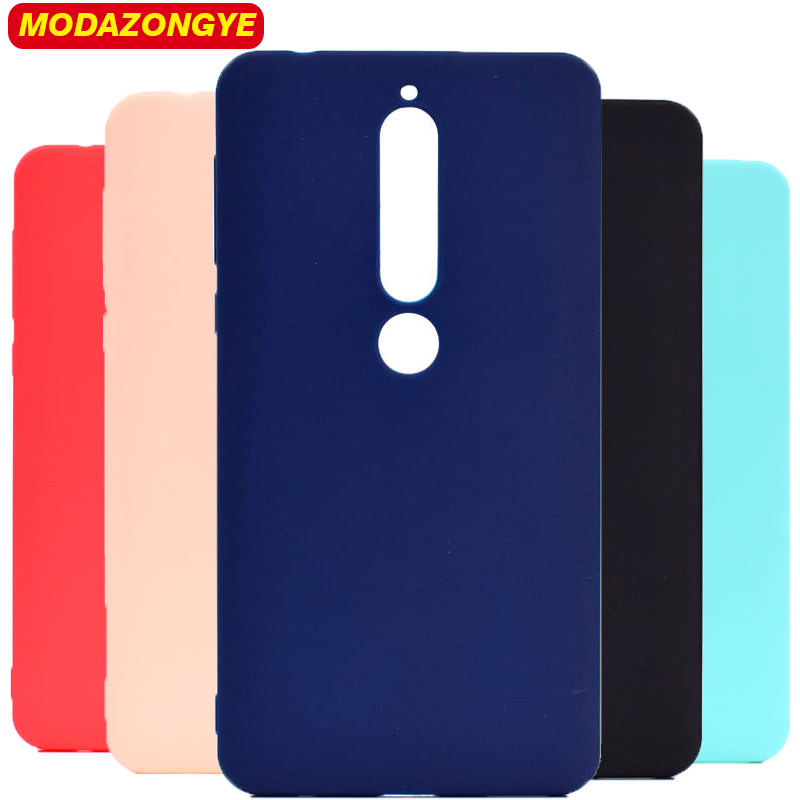Nokia 6 2018 Case Nokia 6.1 Case Silicone Soft TPU Back Cover Phone Case Nokia 6 2018 TA-1068 TA-1050 TA-1043 TA-1045 Case 5.5