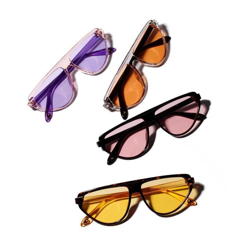 2019 Mode Große Rahmen Transparente Gläser Sommer Frauen Unisex Colorsful Objektiv Sonnenbrille Frauen Männer Voller Rahmen Damen Brille