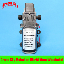 6L/Min 24V DC 80W automatic pressure switch type diaphragm pump 24v