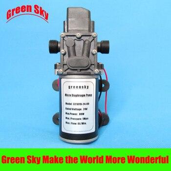 6L/Min 24V DC 80W automatic pressure switch type diaphragm pump 24v 6l min 24v dc 80w return valve type pump diaphragm