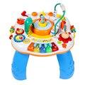 Envío libre Del Bebé Del Piano Mesa de Actividades Musicales Bebé Descubrir Juguete Del Bebé Escritorio