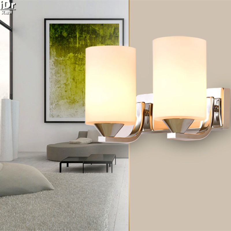 Rooms living room bedroom bedside lamp modern LED lights balcony aisle corridor project simple  Wall Lamps  Rmy-0307 wall light 12w led wall lamp bedroom bedside living room hallway stairwell balcony aisle balcony lighting ac85 265v hz64