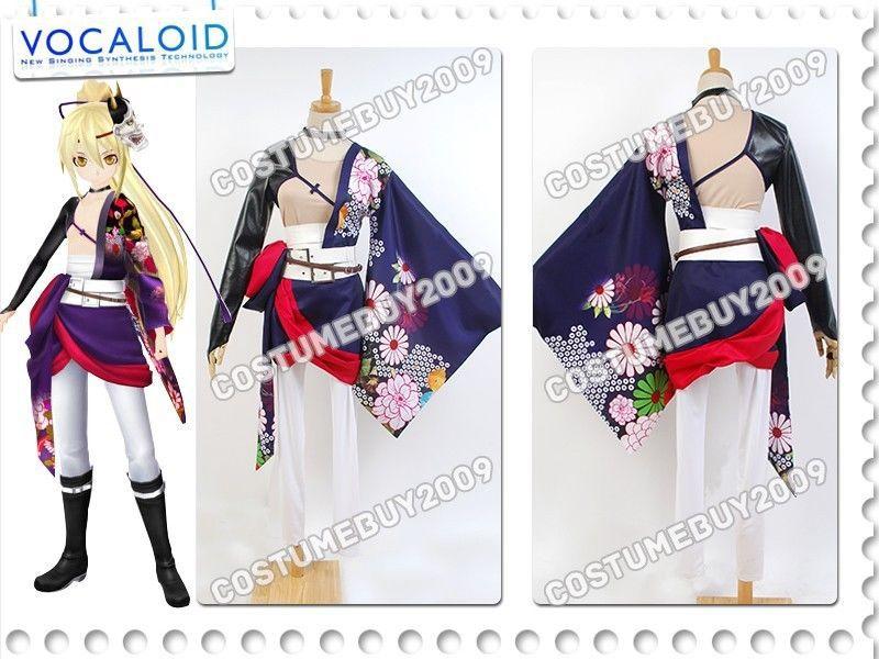 Vocaloid Project DIVA-F2 Hatsune Miku Knife Kagamine Len Ayasaki Anime Cosplay Costume Cloak Top