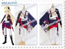 Vocaloid Project DIVA-F2 Hatsune Miku Knife Kagamine Len Ayasaki Anime Cosplay Costume Cloak Top