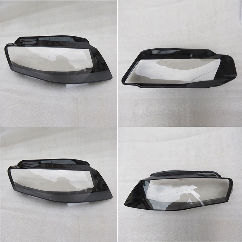 Спереди фар стекло абажур оболочки крышка лампы прозрачная маска для Audi A4 B8 2008-2012