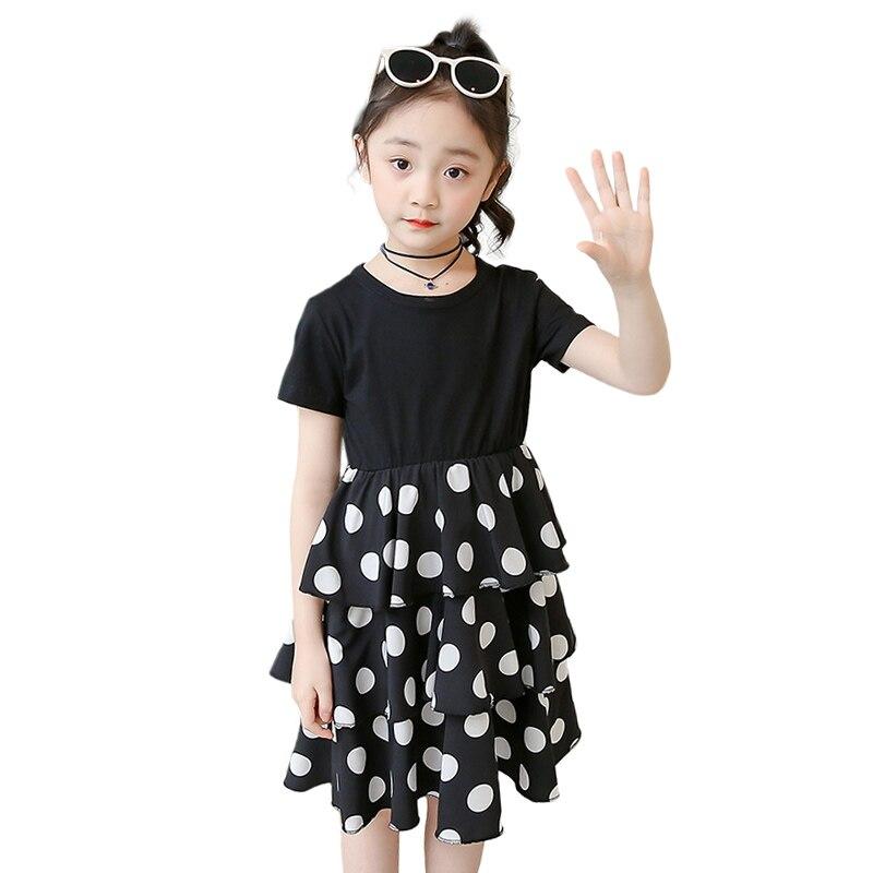 Party Dress For Girls 3 4 6 8 10 12 Years Kids Summer Clothing Children Girl Dresses Polka Dot Girls Princess Dress 5
