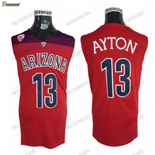 28179d73b DUEWEER 2018 Arizona Wildcats 13 DeAndre Ayton College Basketball Jerseys  Mens Red DeAndre Ayton Stitched Basketball