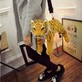 Fashion Women Bag Animal Casual Handbag Tiger Plush Ladies Clutch Lion Messenger Bags Shoulder Bags Bolsa Feminina Bolsas