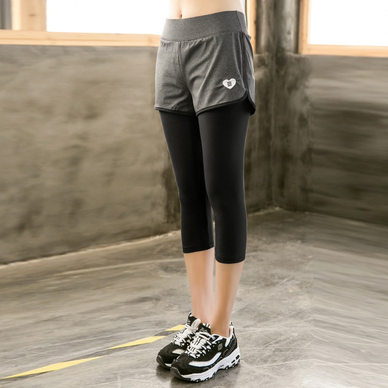 Big Size Women Sport Leggings Elastic Patchwork Pants for Running Gym Fitness Dry Quick Workout Capris <font><b>pantalones</b></font> <font><b>mujer</b></font> 3xl <font><b>4xl</b></font> image